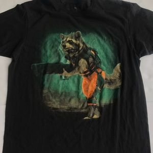 Guardians of the galaxy marvel T-shirt size large